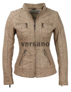 versano-dames-leatherlook-jas-camel-LR318-voor